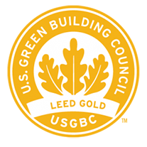 LEED gold icon