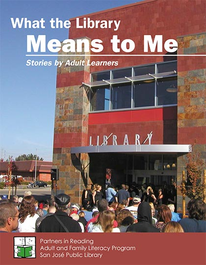 What the Library Means to Me (2012), book cover