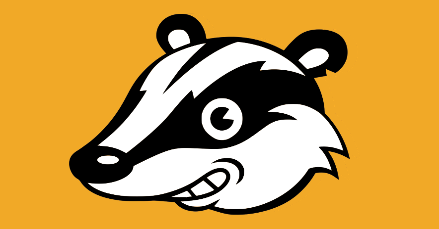 Smiling Privacy Badger mascot.