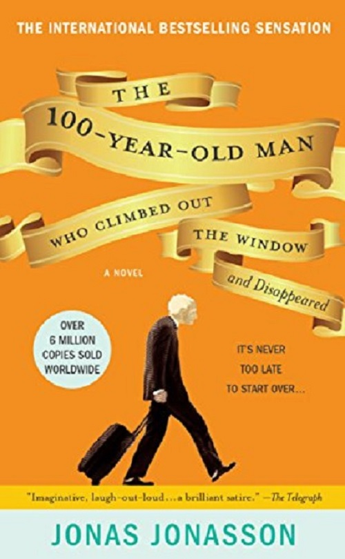 100-year-old man who climbed out the window book cover