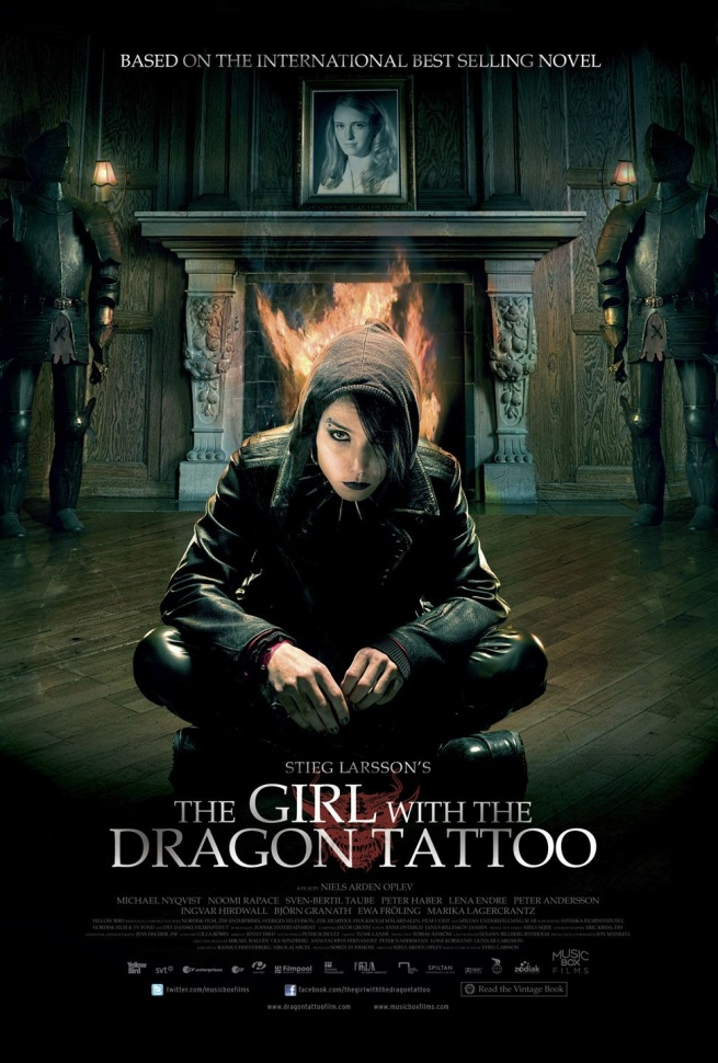 Girl with the Dragon Tattoo Movie poster