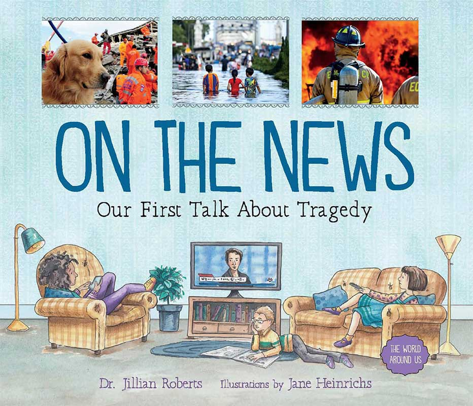 En las noticias: nuestra primera charla sobre tragedia - portada del libro electrónico de la Dra. Jillian Roberts