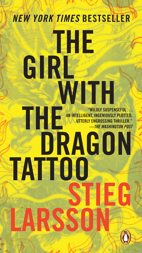 Book cover Girl with the Dragon Tattoo