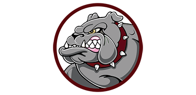 SanJosé高中徽標以鬥牛犬吉祥物為特色