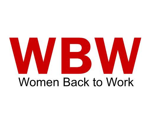 Logo de mujeres de regreso al trabajo