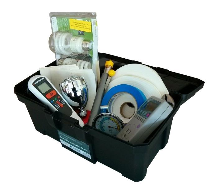 kit de herramientas de ahorro de energía de bricolaje