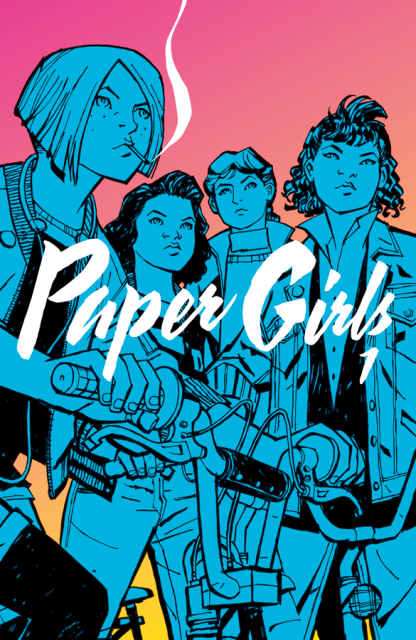 Paper Girls, Vol. 1 cover