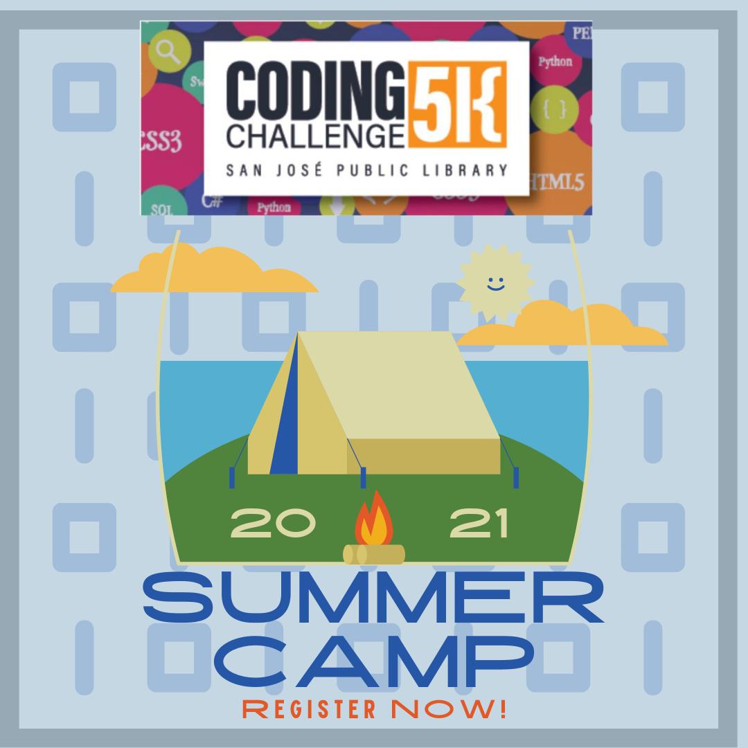 Coding5K 2021夏令營-立即註冊!