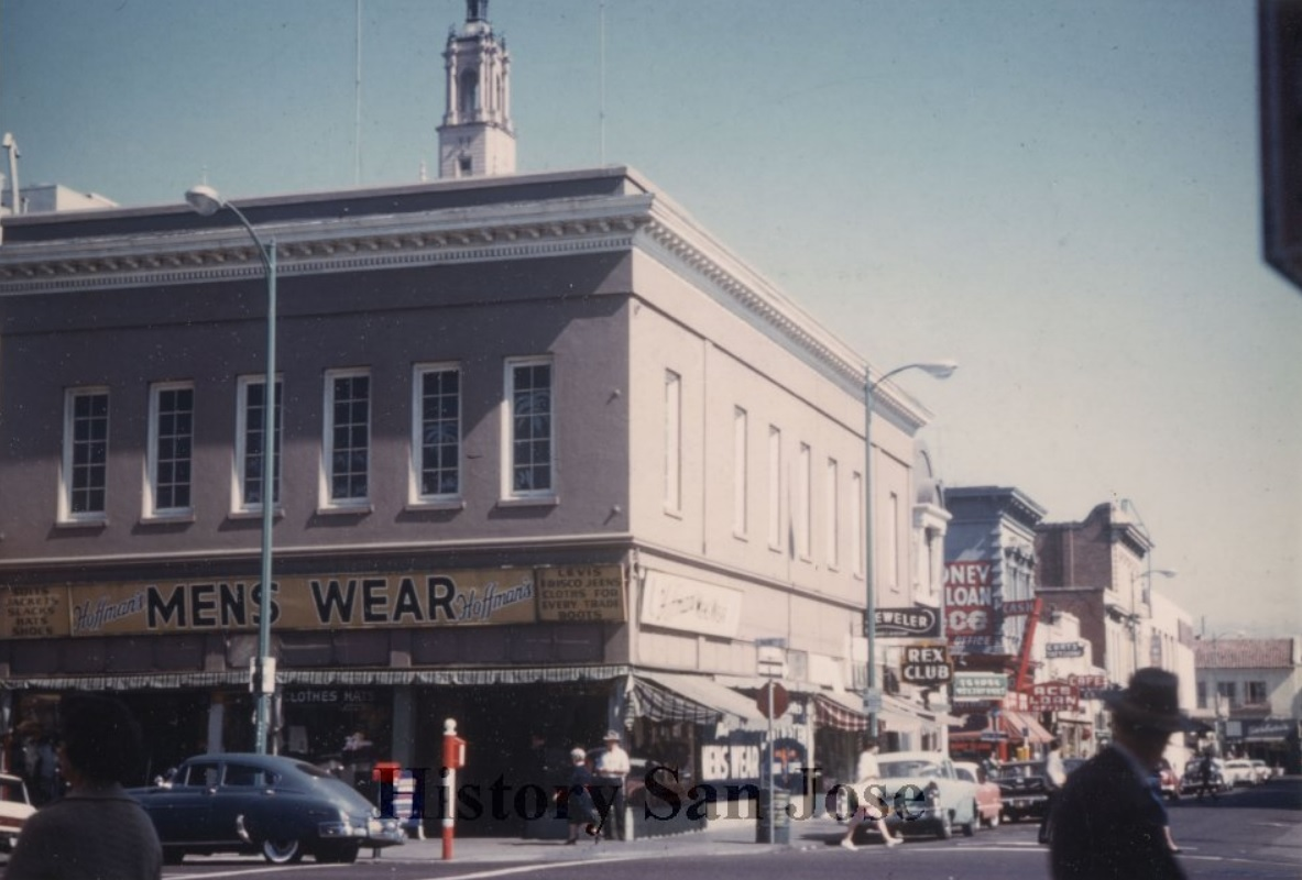 the Murphy Building that stood at 36 S. Market Street. Courtesy of History San Jose