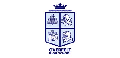 Lá chắn trường trung học Overfelt