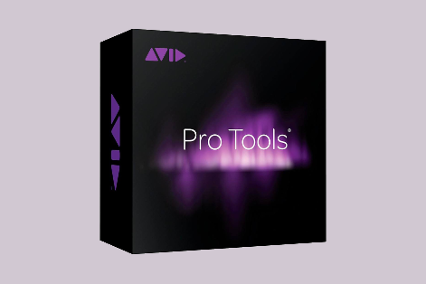Pro Tools 12 purple and black software box