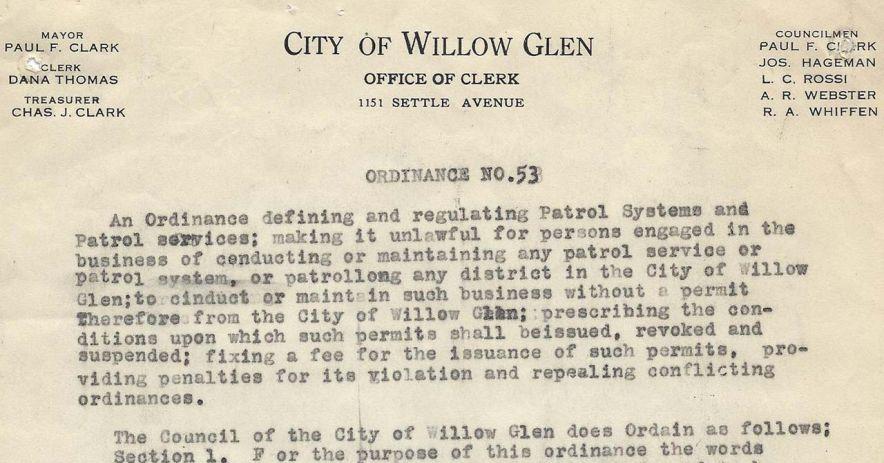 Willow Glen 吞併