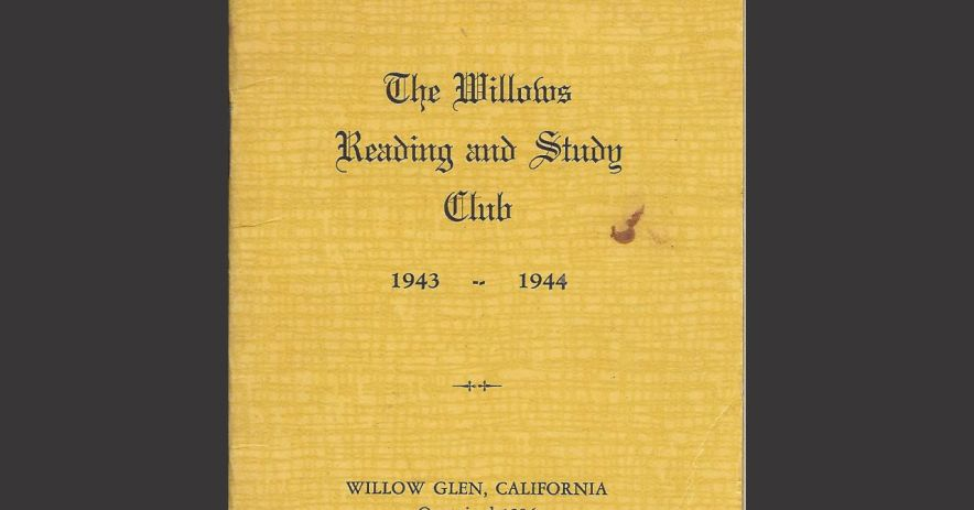 Willows Reading and Study Club Records