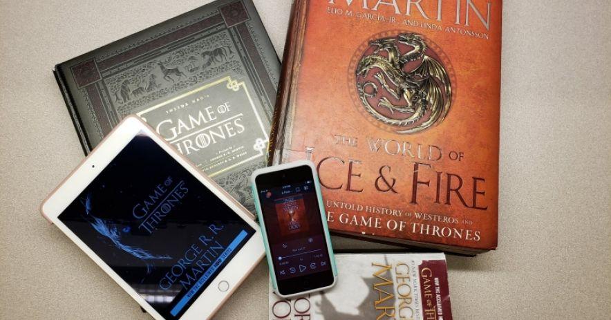Libros de Juego de Tronos, libros electrónicos y libros de audio electrónicos