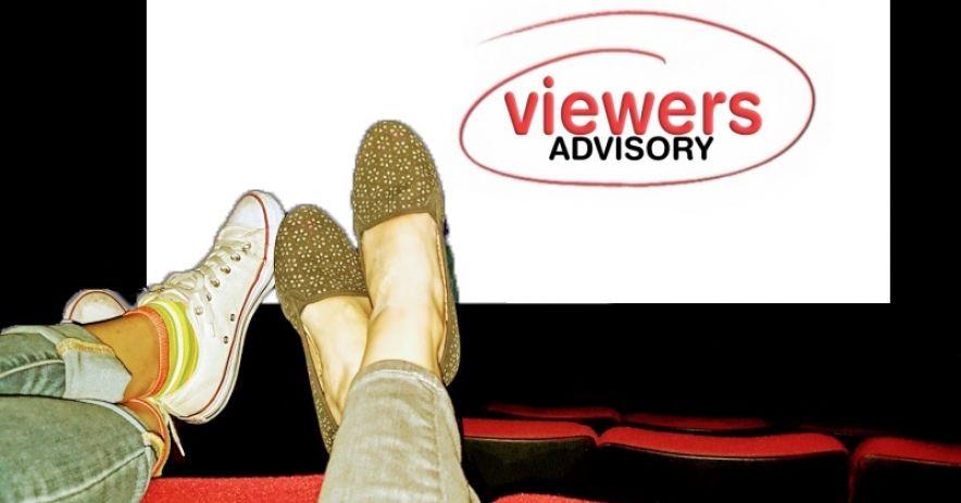 Aviso al espectador: dos pares de pies encima de los asientos del cine