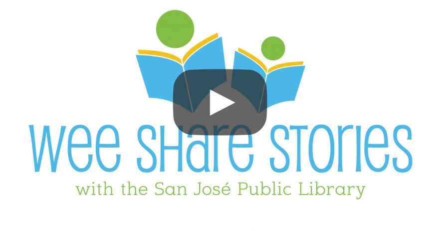 Wee Share Stories logo with Youtube video Play button