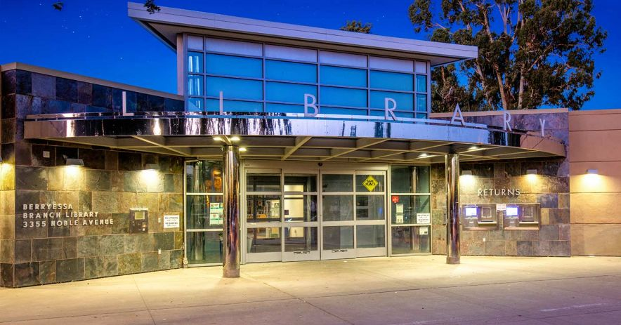 Exterior of Berryessa Branch