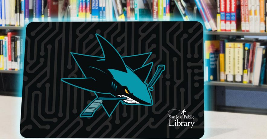 San Jose Sharks library card