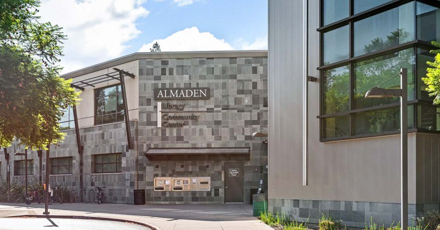 Exterior of Almaden Branch