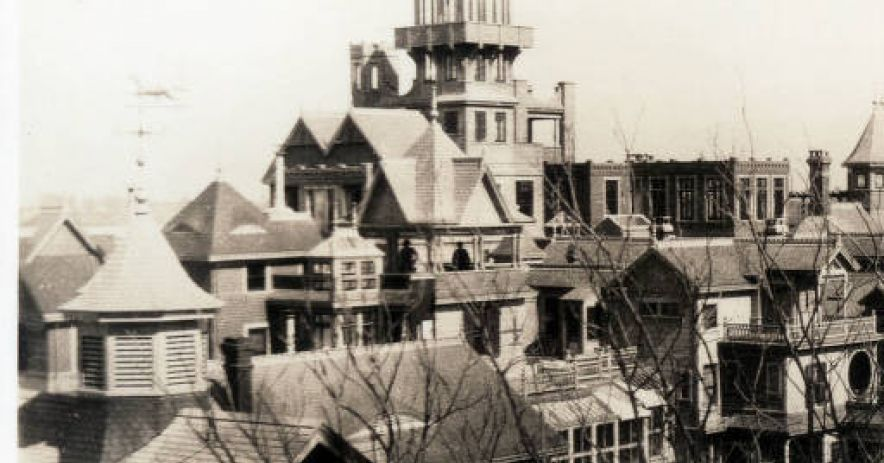 Sarah Winchester's house before the 1906 Earthquake