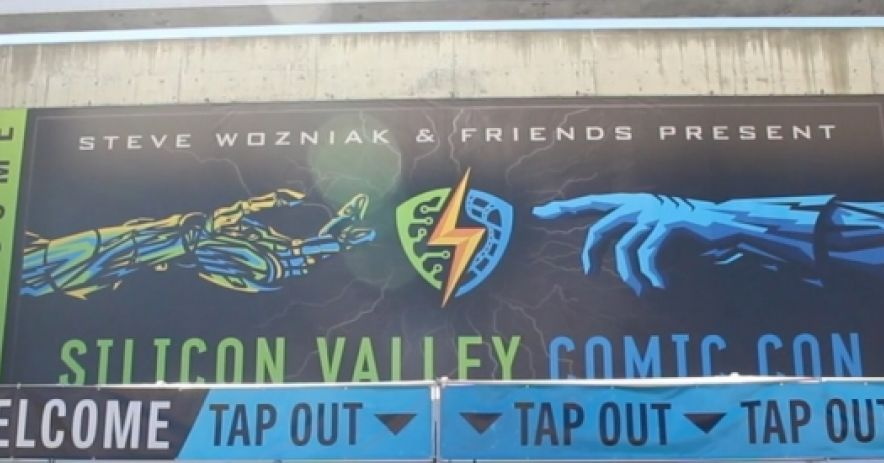Silicon Valley Comic Con banner