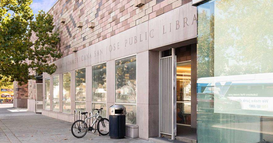 外觀 Biblioteca Latinoamericana 支