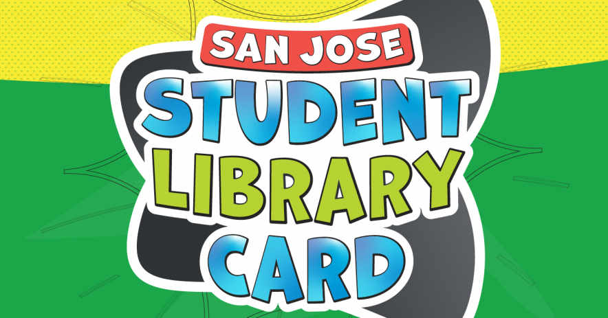 Image of the San José Student Library Card used by most school districts