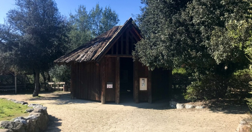 Ohlone Native American Round House