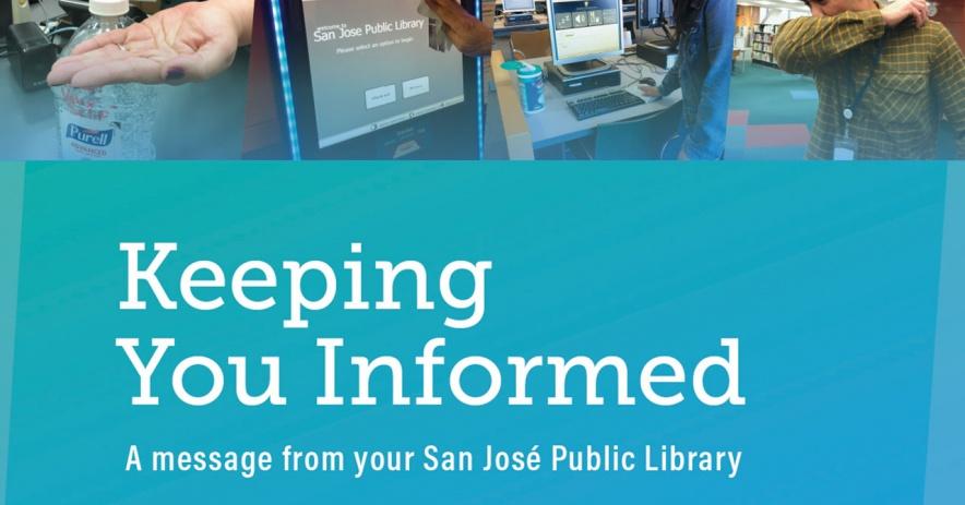保持知情:來自您的消息 San Jose Public Library