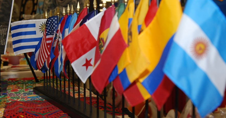 Cờ từ khu vực Mỹ Latinh