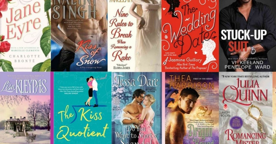 Romances of the Month banner