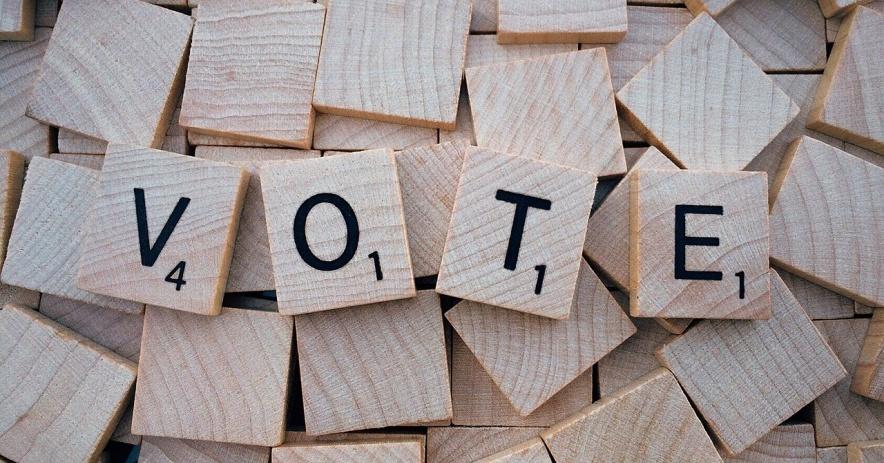 Đọc gạch vụn, 'bỏ phiếu'