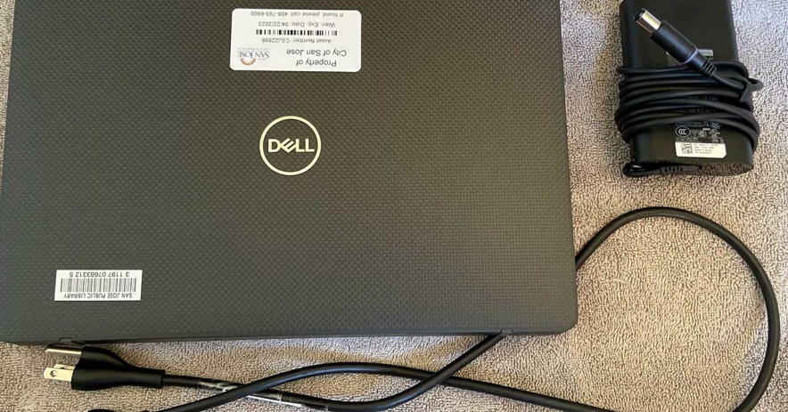 Laptop device available for checkout