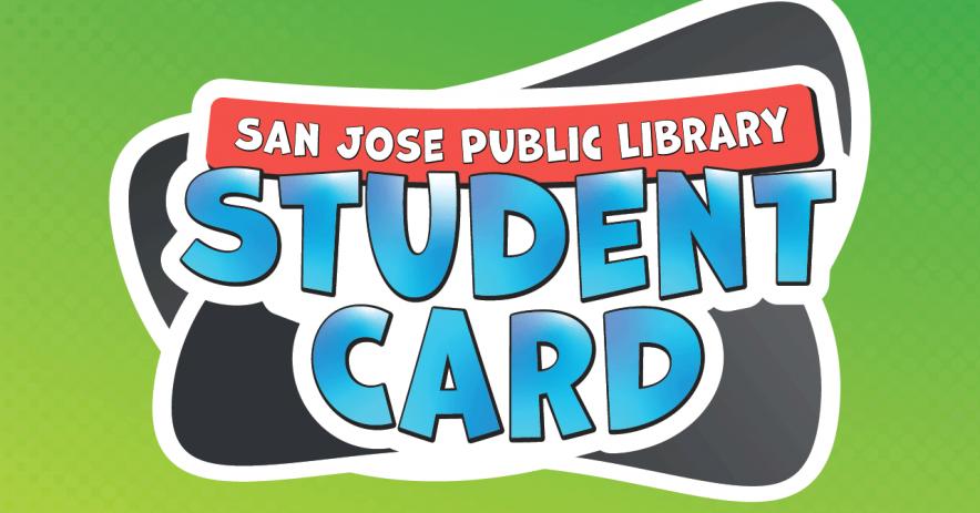 Imagen de la Tarjeta de la Biblioteca Estudiantil de San José utilizada por la mayoría de los distritos escolares