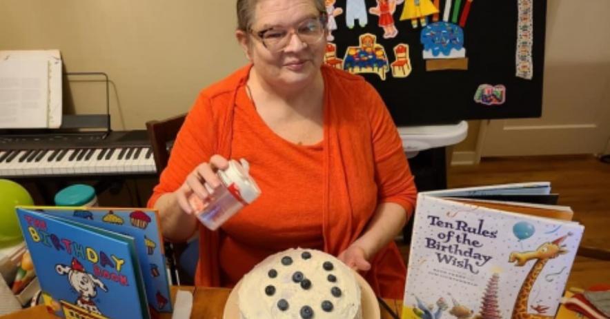 Cumpleaños de Edith Sutterlin Storytime!