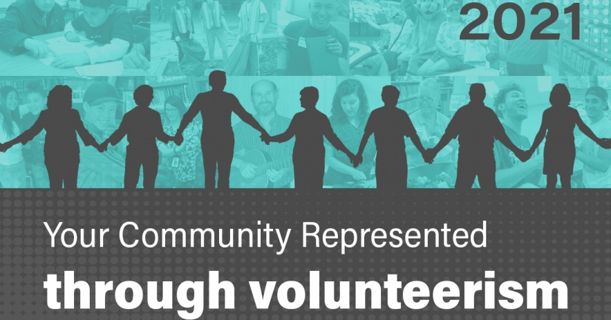 Su comunidad representada a través del voluntariado.