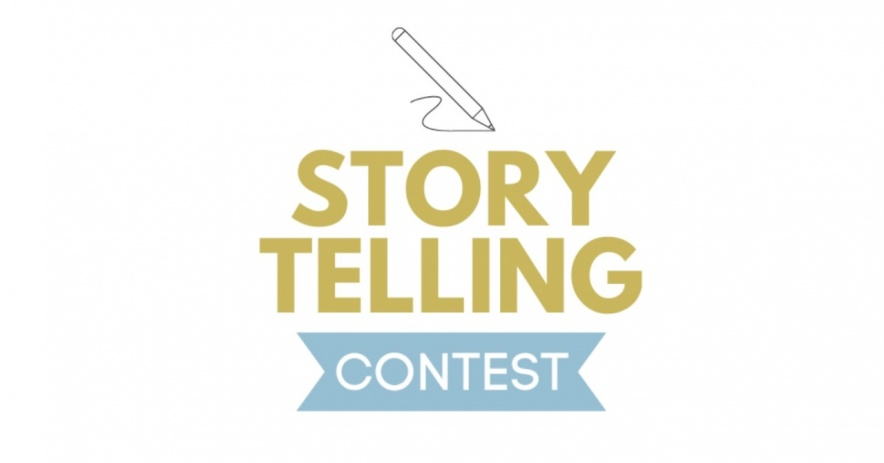 Story Telling Contest text logo