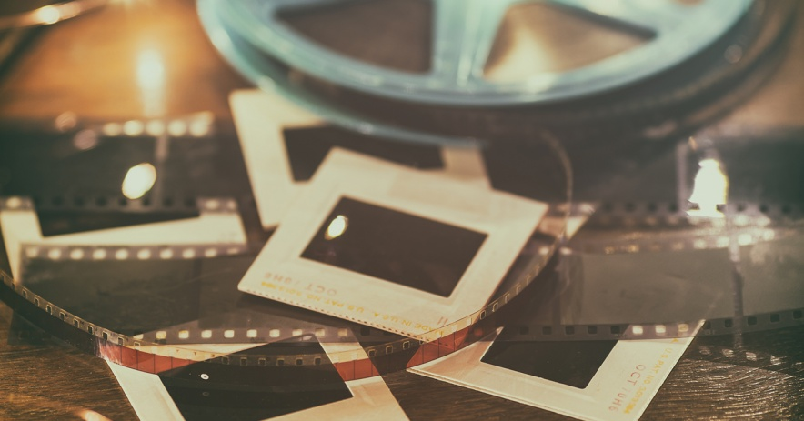 Imagen de película, diapositivas y otros medios analógicos.