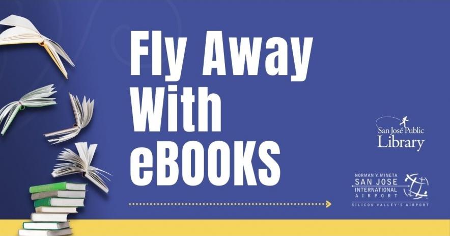 聖何塞公共圖書館和峰田 SJ 國際機場自豪地合作,為旅客提供彈出式圖書館。