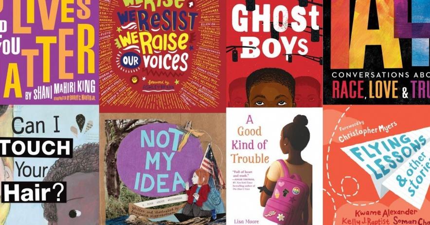 反抗的封面rac3-5 年級的書籍。