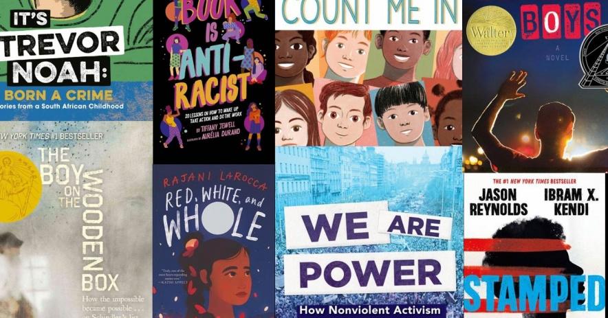 反抗的封面rac6-8 年級的書籍。