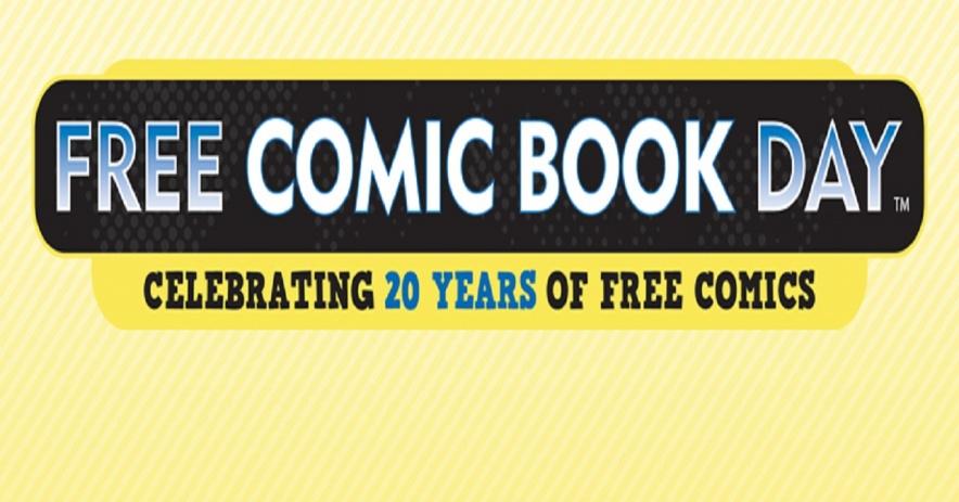 Día del cómic gratuito, celebración de 20 años de cómics gratuitos