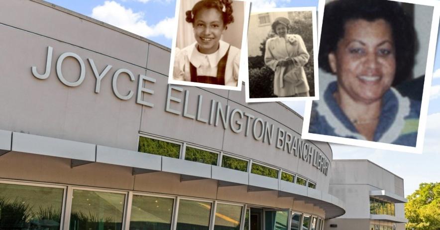 Joyce Ellington Biblioteca con imágenes de Beatrice Ellington