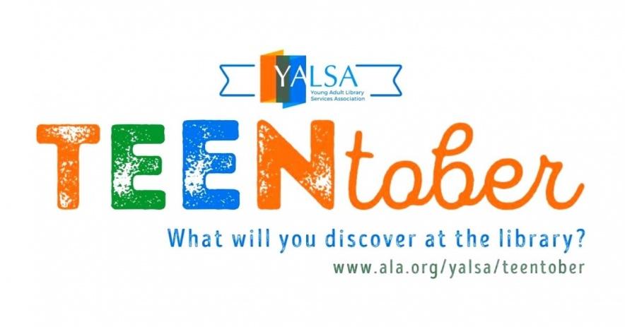 YALSA TeenTober 你會在圖書館發現什麼?