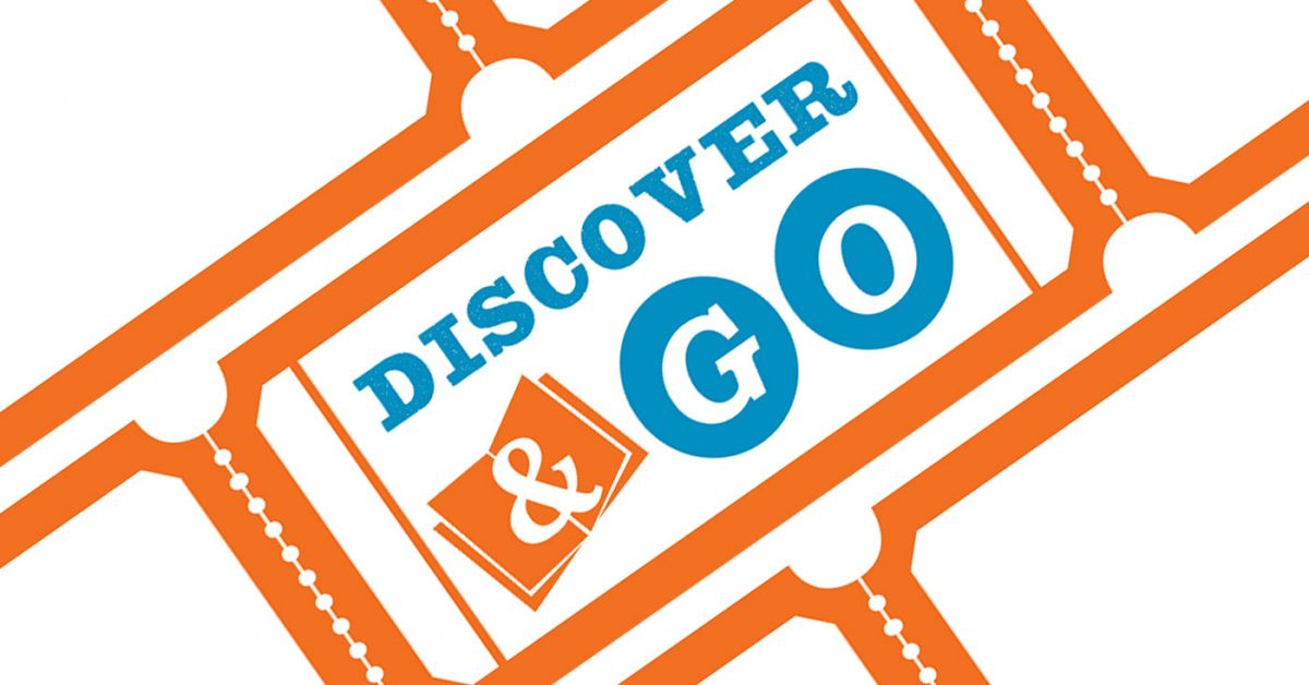Discover&Go門票徽標