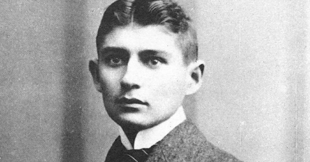 Franz Kafka circa 1917