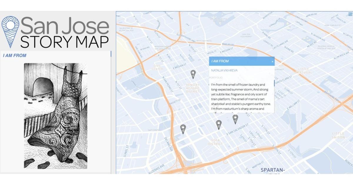 SJ Story Mapa