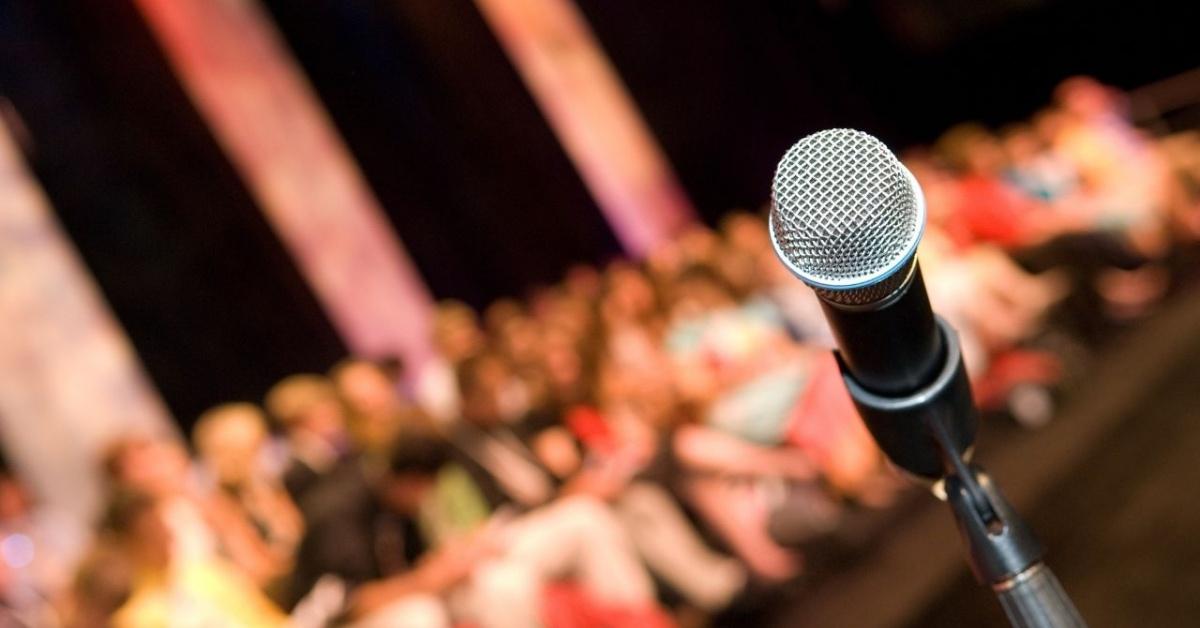 Hablar frente a una audiencia